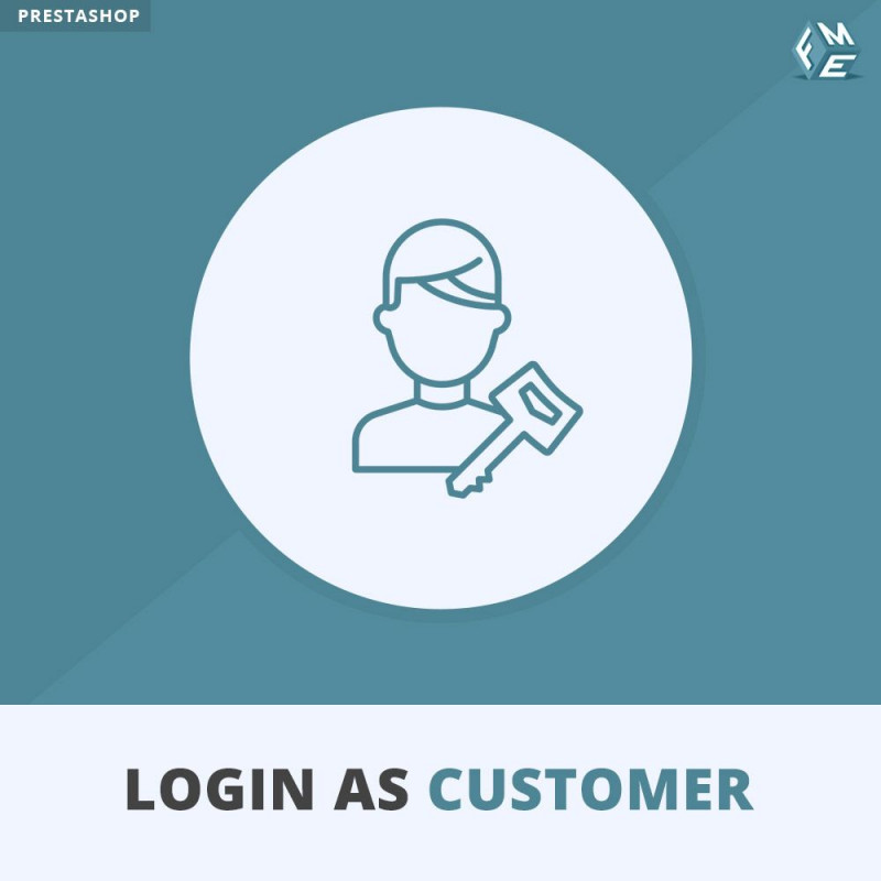 Quick Login as Customer Module