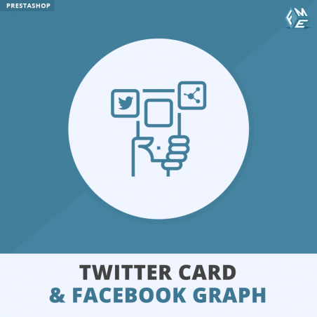 Twitter Card and Facebook Graph PrestaShop Module