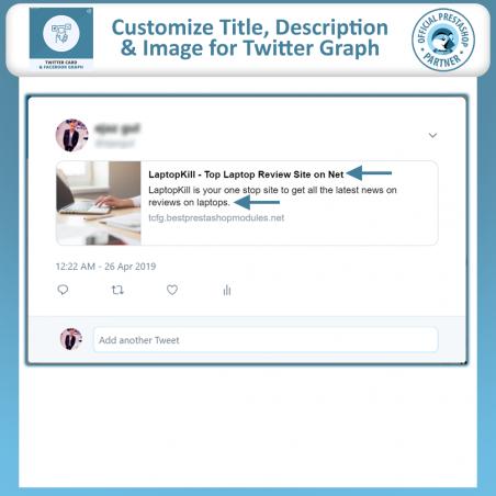 Twitter Card and Facebook Graph PrestaShop Module