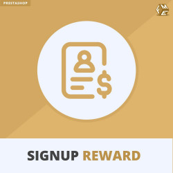 Signup Reward - Offer Discounts Upon Registration