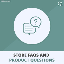 Store FAQs & Product FAQs (Frequently Asked Questions) PrestaShop
