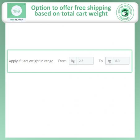 Advance Free Shipping For Prestashop