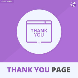 Advance Thank You Page For Prestashop