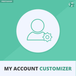 Prestashop My Account Customizer Module