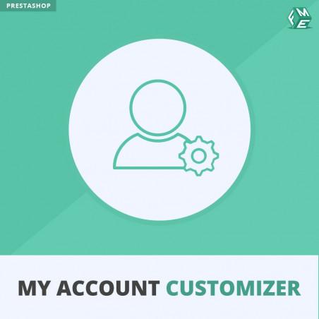 Prestashop My Account Customizer Module