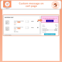 Prestashop Custom Cart and Checkout Messages Module
