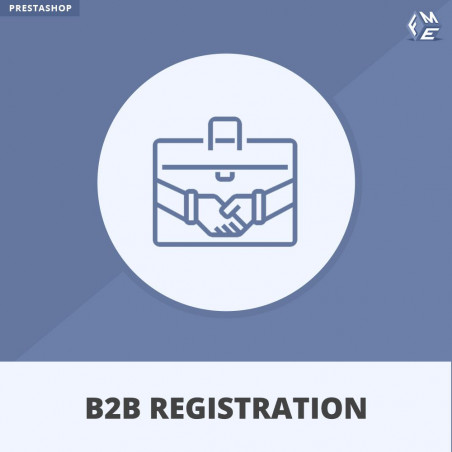 B2B Registration Module For Prestashop