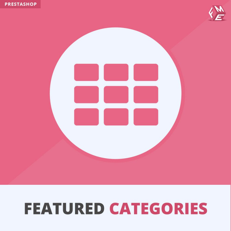 Prestashop Featured Categories Module
