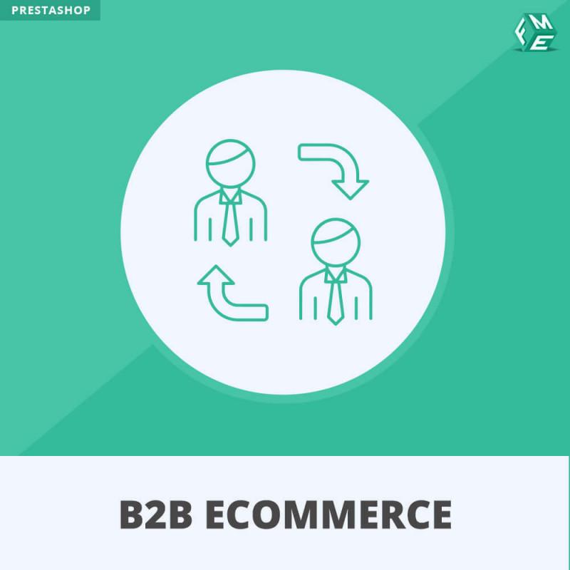 B2B Ecommerce Prestashop Module