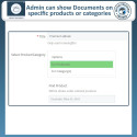 Prestashop Product Documents Module