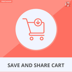 Prestashop Save and Share Cart