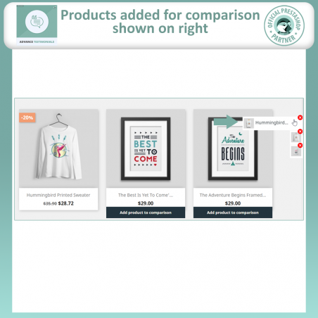 Advance Product Comparison