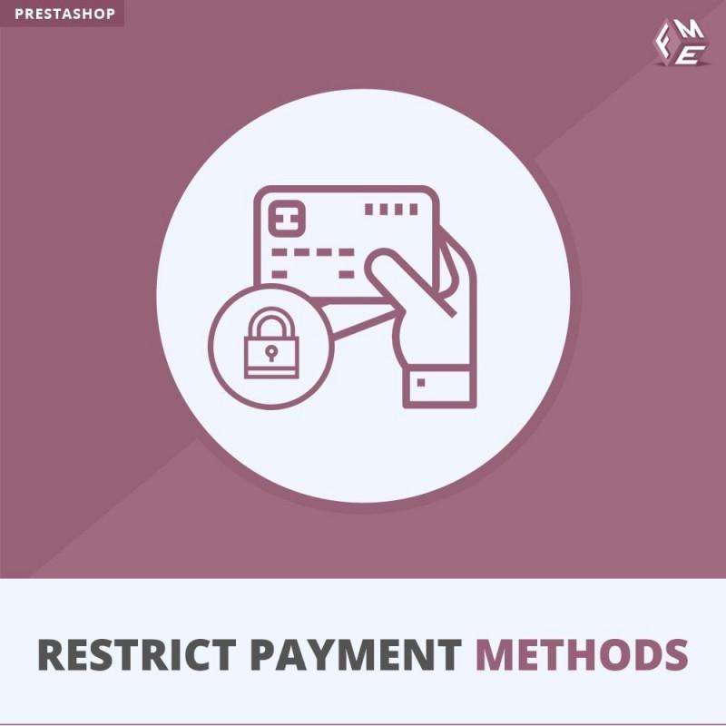 Restrict Payment Methods
