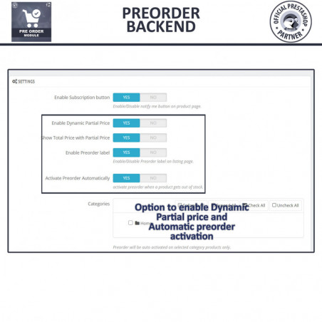 Preorder Module
