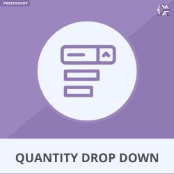 Quantity Drop Down