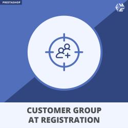 Prestashop Select Customer Group at Registration Module