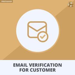 Prestashop Email Verification for Customer Activation Module