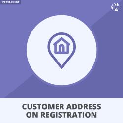 Prestashop Customer Address on Registration From Module