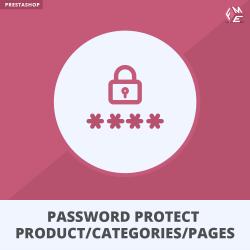 Prestashop Password Protect Product, Categories & Pages Module