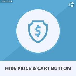Prestashop Hide Price and Add to Cart Button Module