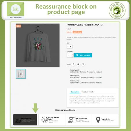 Reassurance Block