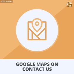 Prestashop Google Maps on Contact us, with captcha Module