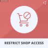 Restrict Access to Shop By IP, Country & User Agent