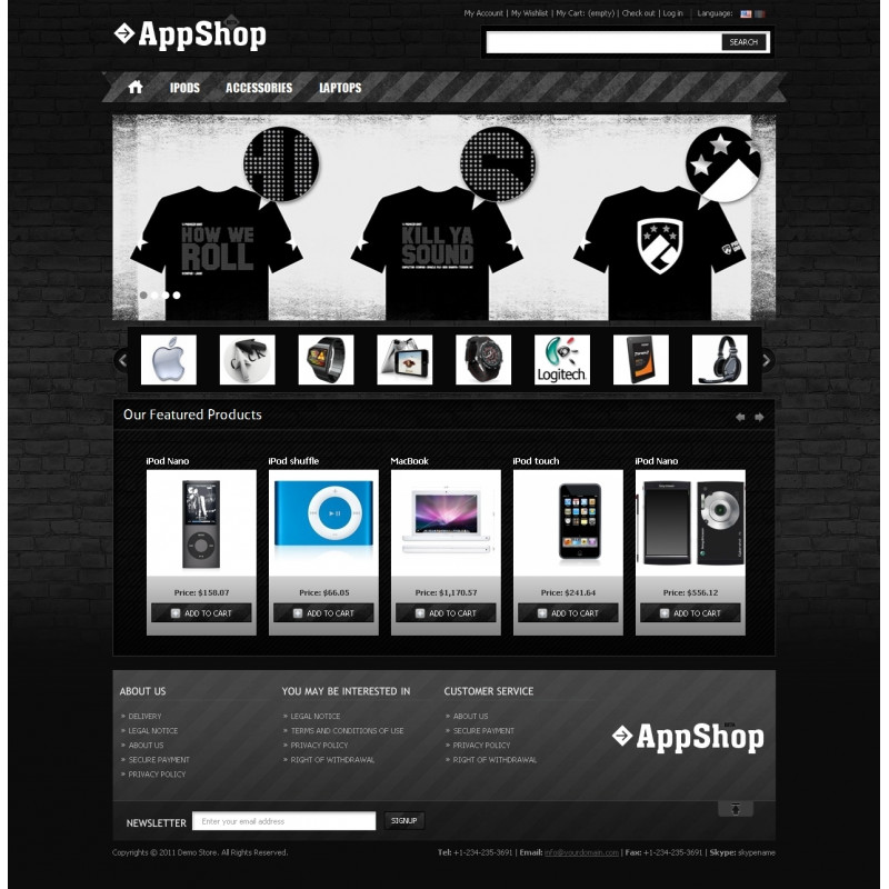 Apparel Shop PrestaShop Theme