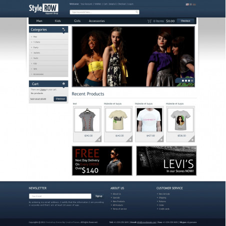 Style Row PrestaShop Theme