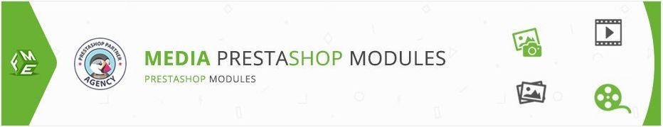 Best PrestaShop Media Modules, Extensions, Addons and Plugins and Addons for your e-commerce store