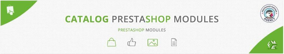 Best Prestashop Catalog Modules, Extensions and Addons for your e-commerce store