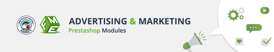 Prestashop advertising and Marketing Modules, Plugins, Extensions