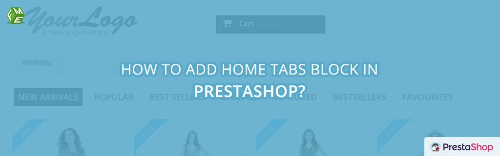 How to Add Home Tabs in PrestaShop?